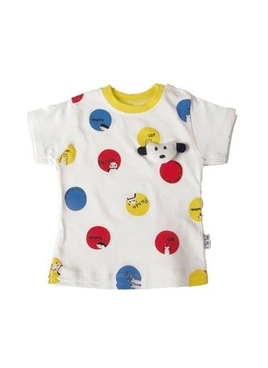 POKY Bebek Takımı Yazlık Ikili Tişört Ve Şortlu Kırmızı